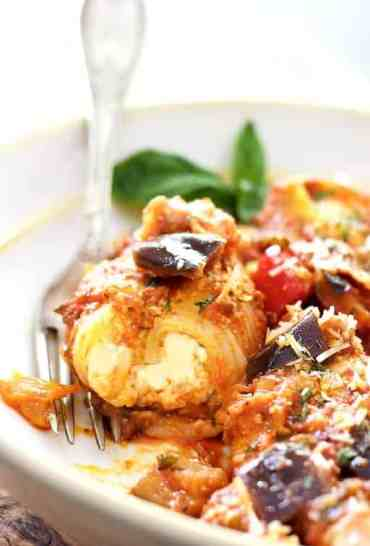 Stuffed Pasta Shells with Chunky Garden Marinara Sauce