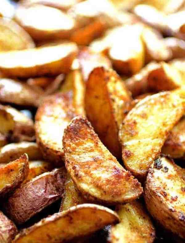 Perfect Roasted Potato Wedges