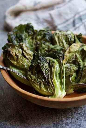 Duck Fat Roasted Cabbage Sprouts