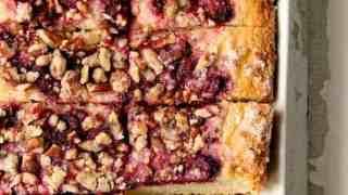 Easy Raspberry Coffee Cake