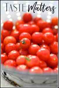 Taste Matters - Totally Tomatoes