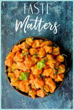 Taste Matters Cover - Bowl of Habaneros