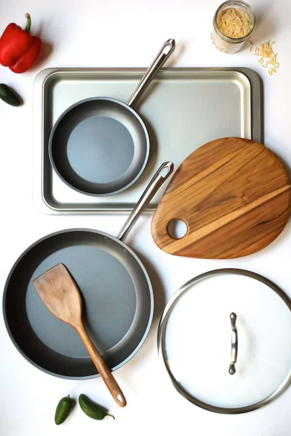 Southwestern Chicken Orzo and Black Bean Skillet - Giveaway package