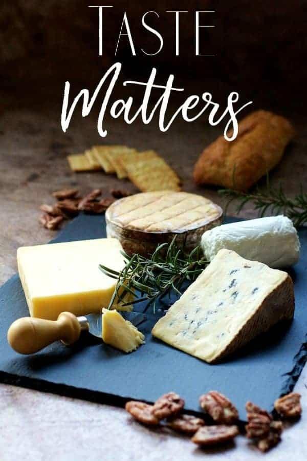 Taste Matters - Cheese Board