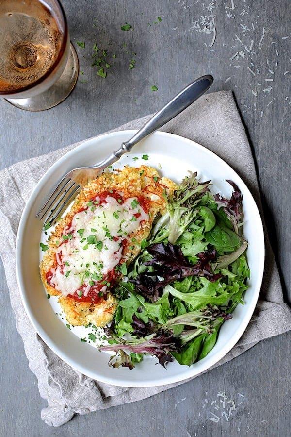 Cauliflower Parmigiana