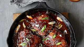 Korean Braised Chicken Thighs