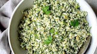 Cauliflower Artichoke Tabbouleh