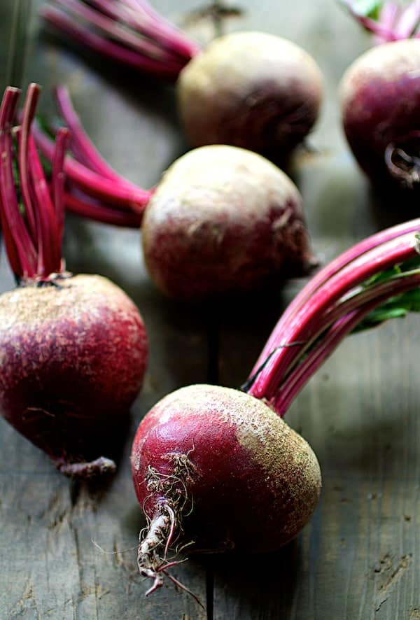 Quick Pickled Beets with Dill - Photo of fresh beets
