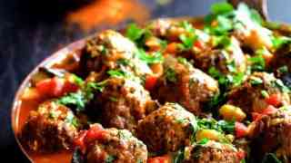 Moroccan Meatball and Vegetable Ragout