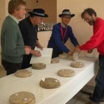 Etude des fromages St nectaire pour le concours par le jury