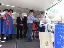Remise de prix concours du fromage Saint Nectaire