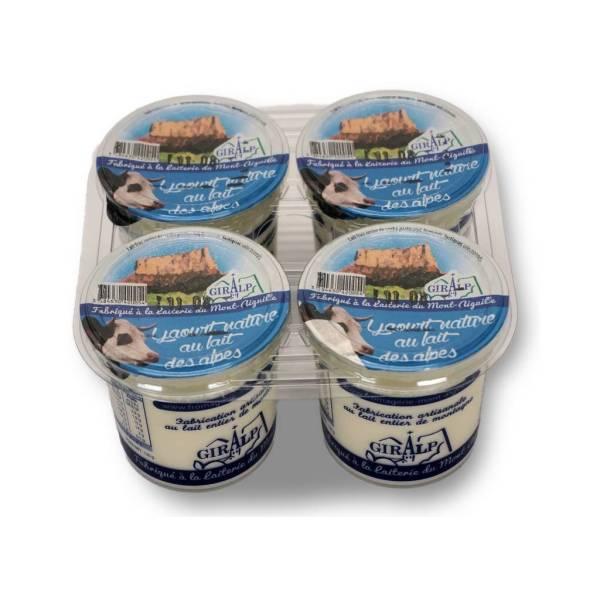 Yaourts au lait de montagne vache x 4