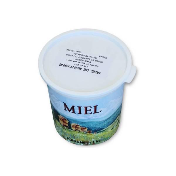 Miel de montagne 1kg