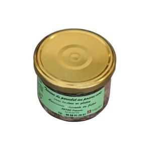 Terrine porcelet poivre vert