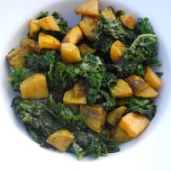 Golden Beets with Kale