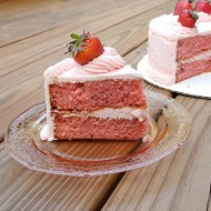 Southern Strawberry Cake for My Dad's Birthday