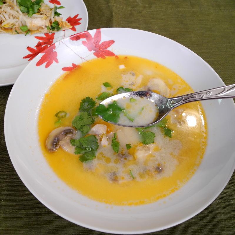 Thai Coconut Soup 2