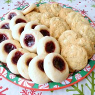 Jam Thumbprints and White Chocolate Orange Dream Cookies