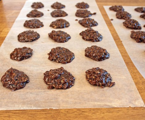 hazelnut no bake cookies 2