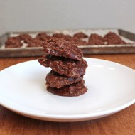 Hazelnut No Bake Cookies