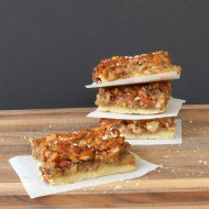 Salted Pecan Pie Bars