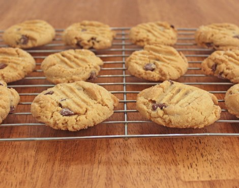 Chocolate Chip Peanut Butter Cookies 2