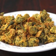 Low Fat Oven Fried Okra