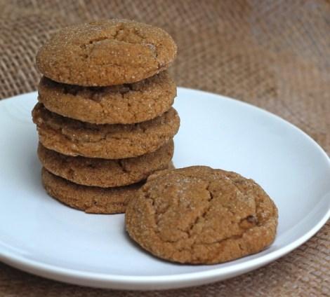 Soft Ginger Cookies #fillthecookiejar