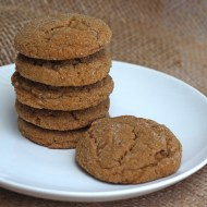 Soft Ginger Cookies #fillthecookiejar