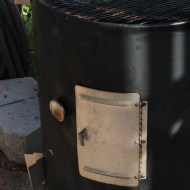 Modifying Your Smoker for Man Food Mondays