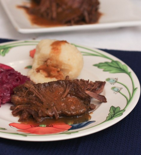 Traditional German Sauerbraten