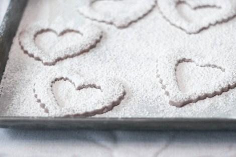 Valentine's Day Linzer Cookies