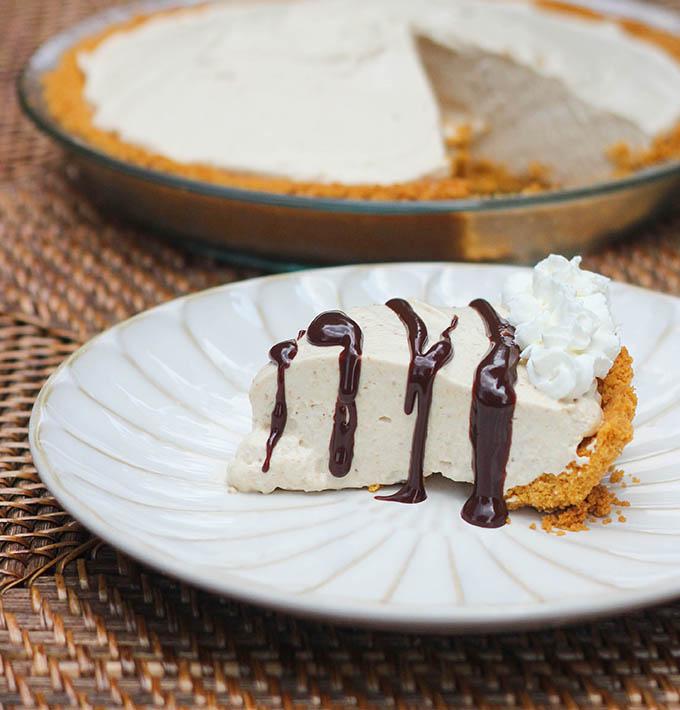 Sugar Free Peanut Butter Pie