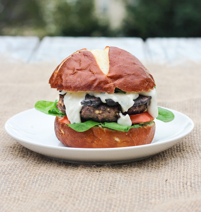 Black and Blue Burgers