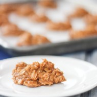 No Bake Butterscotch Cookies for #fillthecookiejar