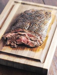 Coffee Rubbed Flank Steak