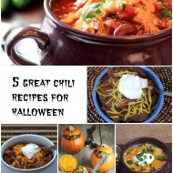 5 Great Chili Recipes for Halloween for Man Food Mondays