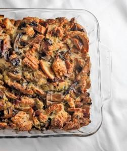 Mushroom and French Bread Dressing