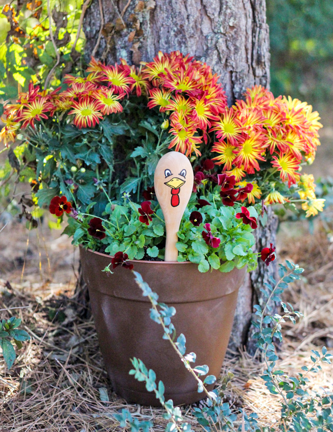 How to Make a Turkey Planter