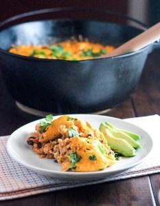 One Pot Salsa Chicken