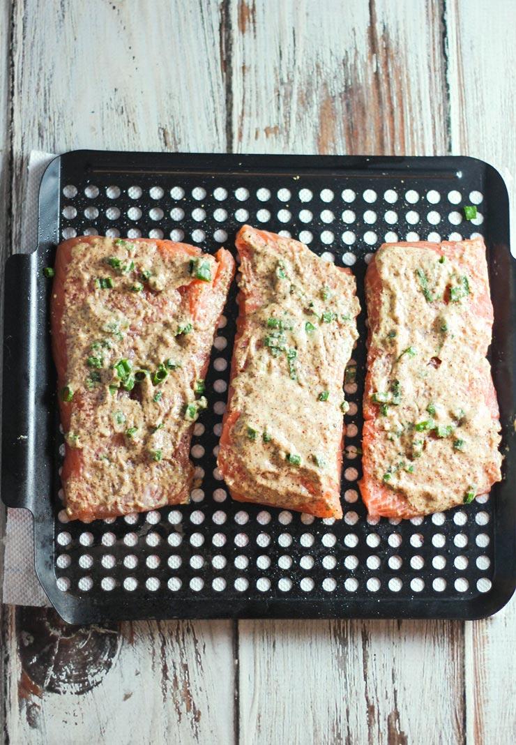 Almond Crusted Salmon