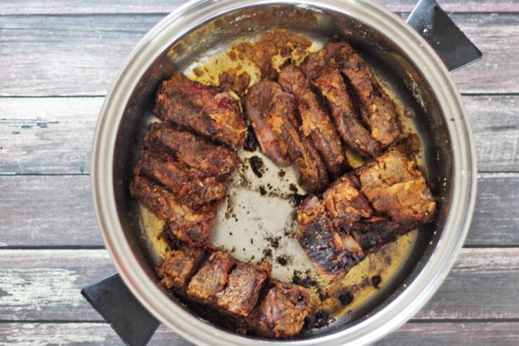 Bourbon Beef Short Ribs
