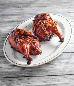 Bourbon Praline Grilled Chicken