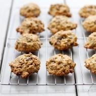 Irish Cream Oatmeal Chocolate Chip Cookies for #fillthecookiejar