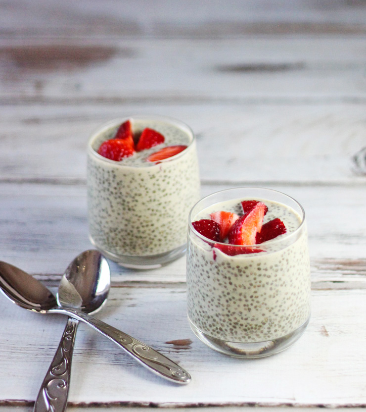 Matcha Chia Seed Pudding