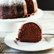 Dad's Chocolate Pound Cake…on the Smoker For Man Food Mondays.