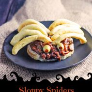 Slow Cooker Sloppy Joes or Sloppy Spiders