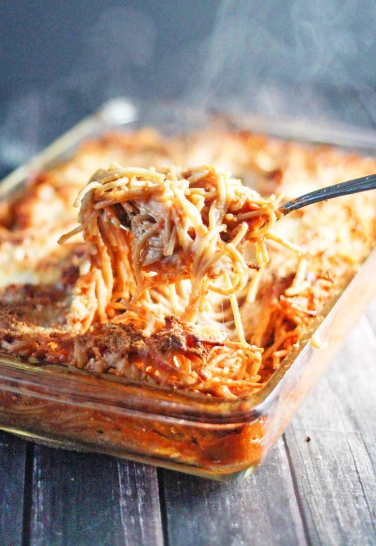 Chicken Spaghetti Casserole