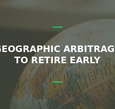 The role of geographic arbitrage in early retirement
