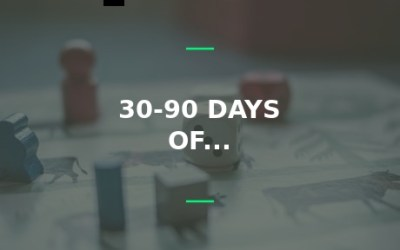 30 to 90 days of